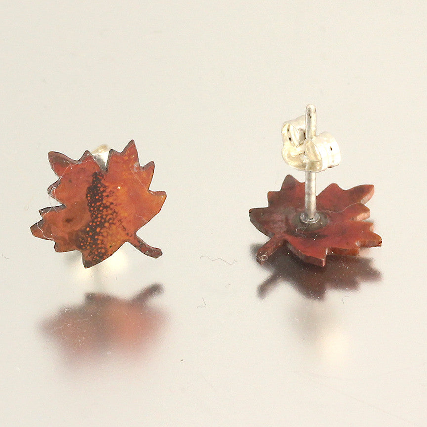Foliage Maple Leaf Studs
