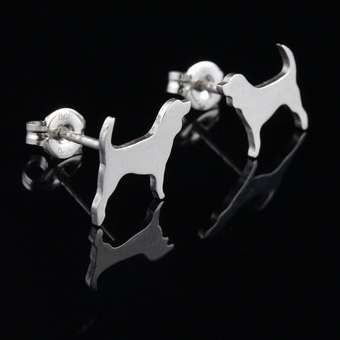 French Bulldog Linked Charm Bracelet