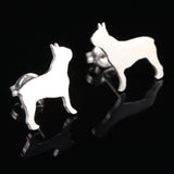 Boston Terrier Earring Studs