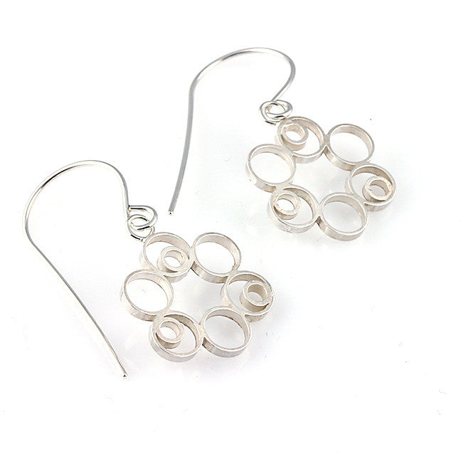 Bubble Flower Earrings