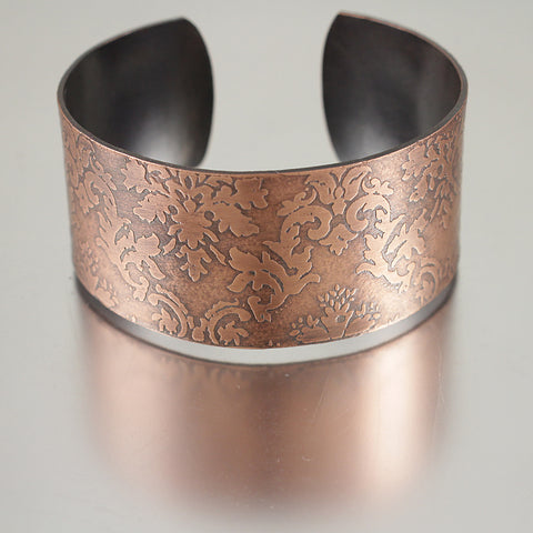 Leaf Pattern Adjustable Bracelet