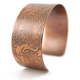 Octopus Copper Cuff