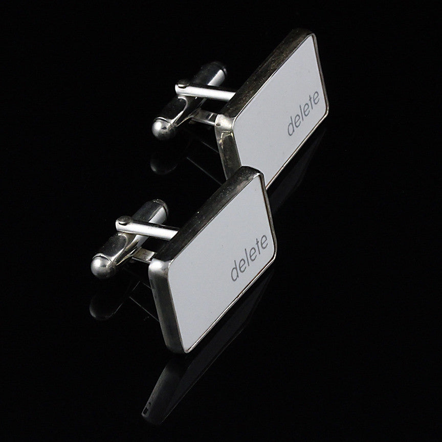 Delete Key Cufflinks