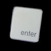 Enter Key Tie Tack/Pin