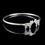 French Bulldog Cuff Bracelet