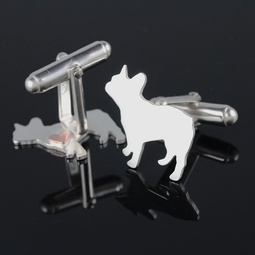 Dog Breed Silhouette Cufflinks