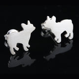 French Bulldog Earring Studs