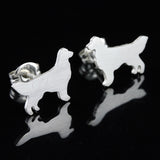 Golden Retriever  Earring Studs
