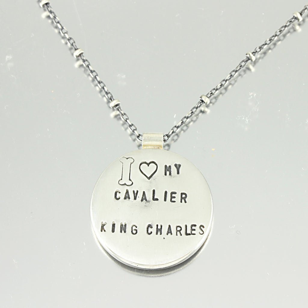 I Love My Cavaliar King Charles Necklace