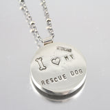 I Love My Rescue Necklace