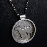 I Love My Bull Terrier Necklace