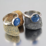Lapis Cab Ring - Size 6.25 or Size 7.5