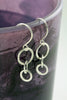 Sterling Circle Drop Dangle