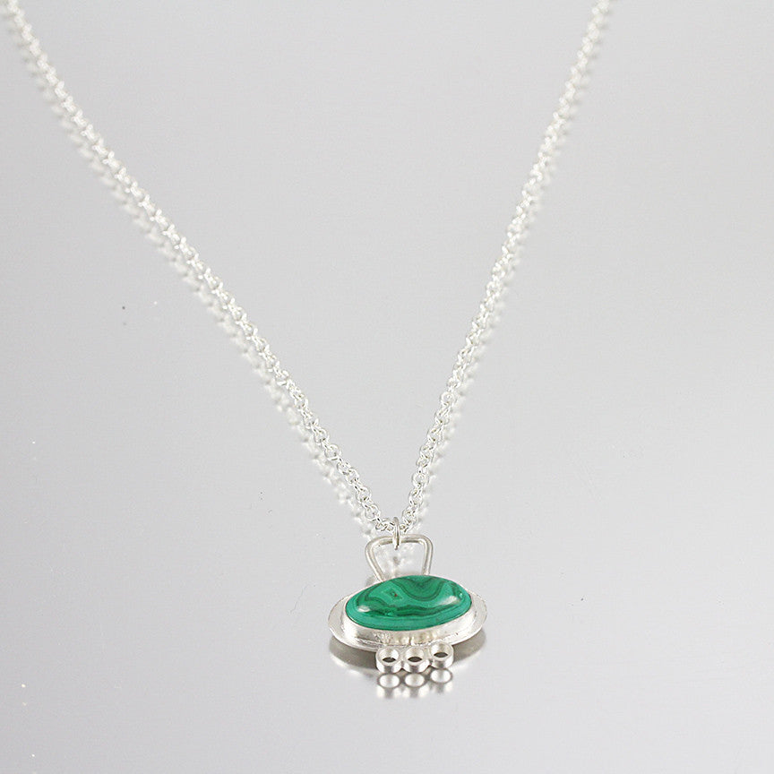 Malachite Oval Pendant