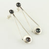 Modern Mimic Two-Toned Cup Drop Studs