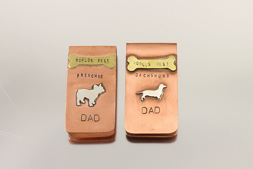 World's Best Frenchie Dad Money Clip