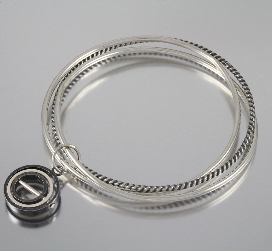 OCD Series - OCD Charm Bangle Bracelet