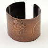 Octopus Wide Copper Cuff