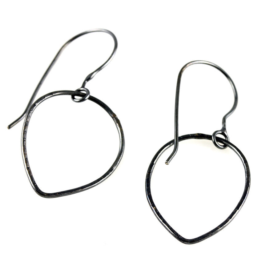 Free-Flowing Oxidized Sterling Drop Dangles