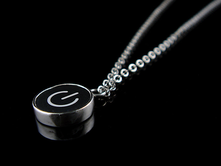 Power Standby Symbol Necklace