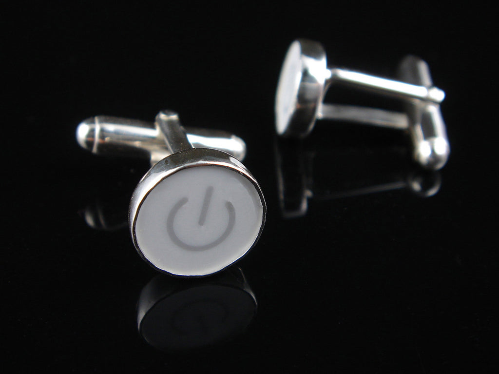 Power Standby Symbol Cufflinks
