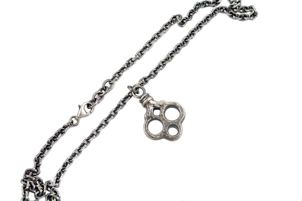 Skeleton Key Head Pendant