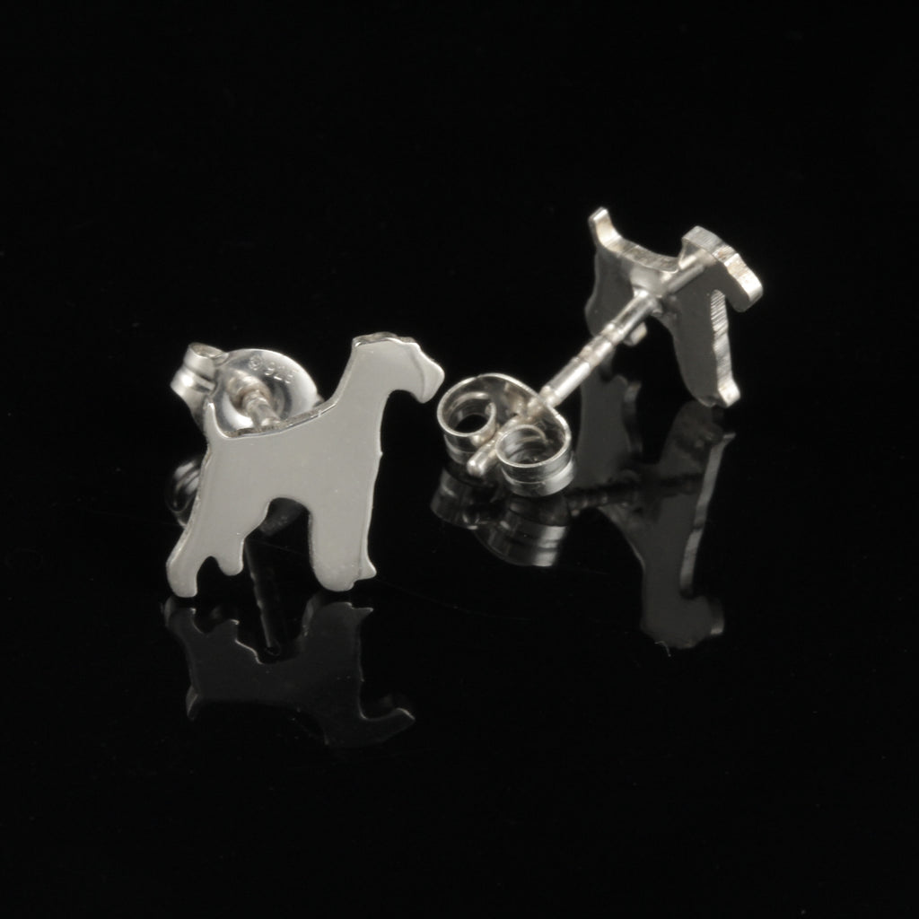 Airedale Terrier Ear Studs