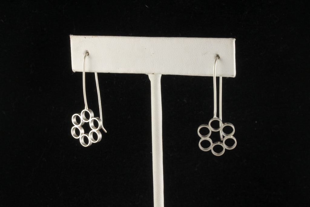 Floral Bubble Dangles