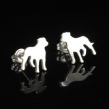 "Staffordshire ""Staffy"" Earring Studs"
