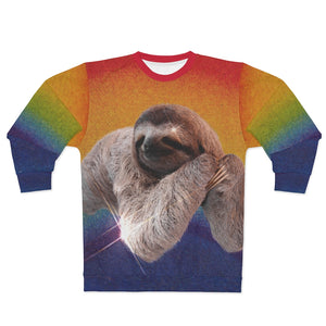 Rainbow Sloth Unisex Sweatshirt