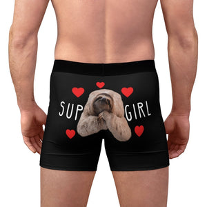 Valentine's Day Sloth Men's Underwear