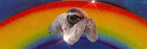 Rainbow Sloth Coffee Mug