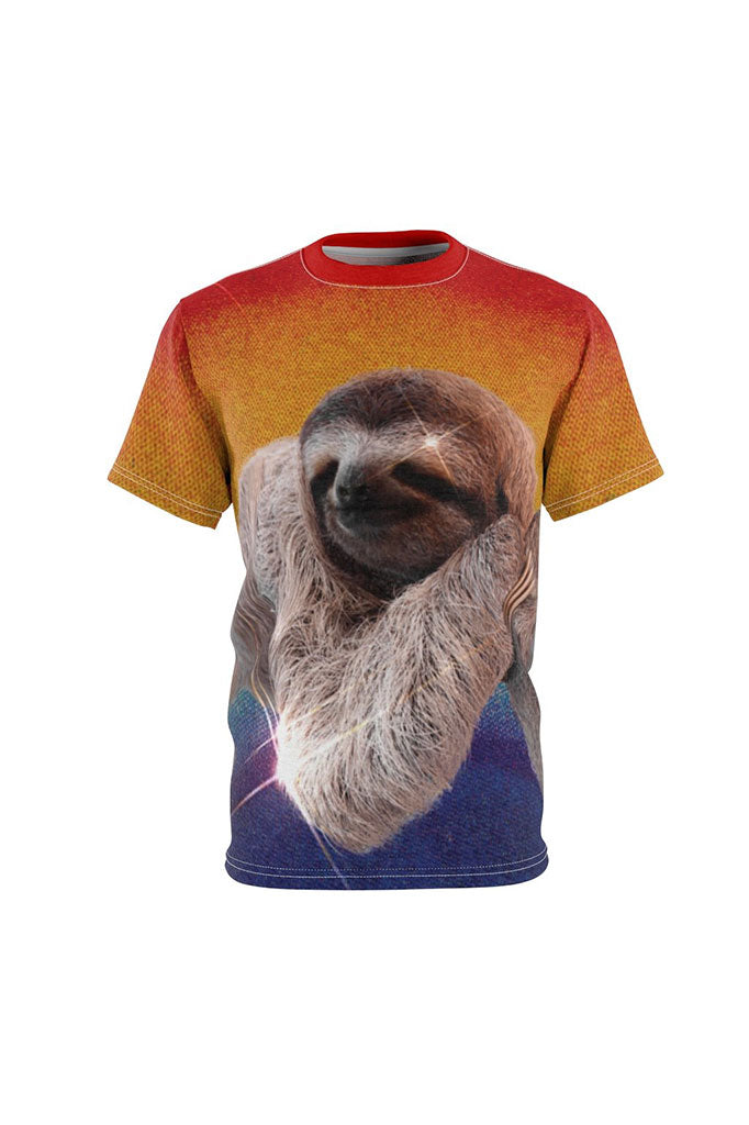 Rainbow Sloth Full Print Unisex T-Shirt