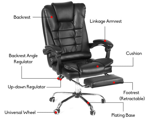 Office Chair - Ergonomic Executive Chair with All Comfort