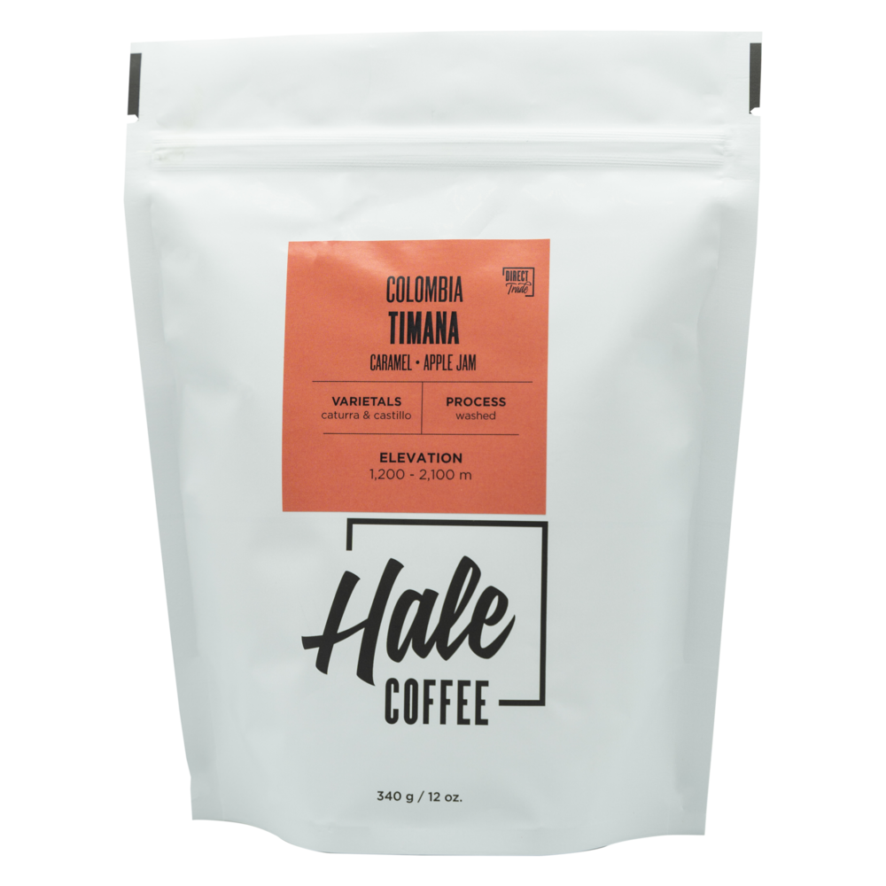 Hale Coffee - COLOMBIA TIMANA