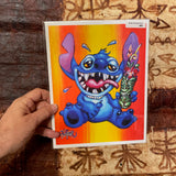 Party Stitch Archival PAPER Art Print - Select Size