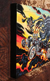 Lava Tiki Hot Rod Archival CANVAS Art Print - Select Size