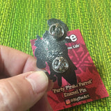 Party Pirate Parrot Pin