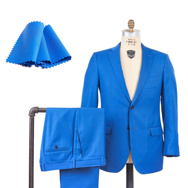 Super 150 Stretch Solid Suit