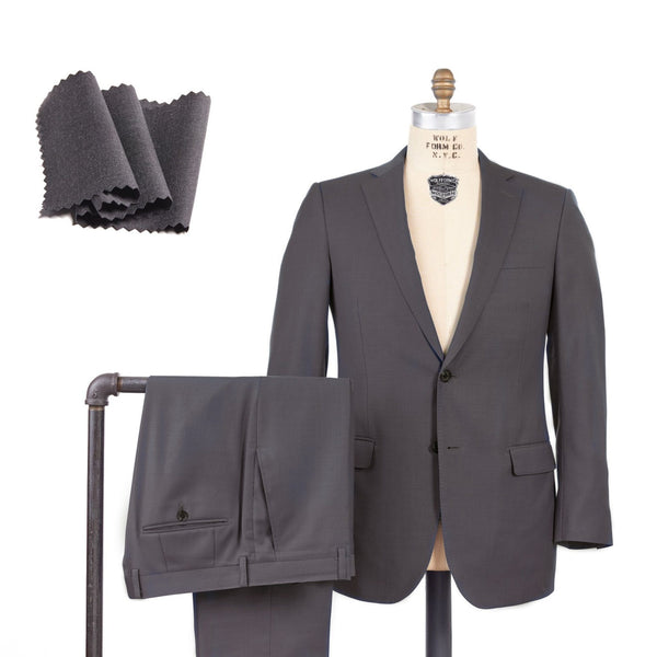 Super 140 Wool Solid Suit