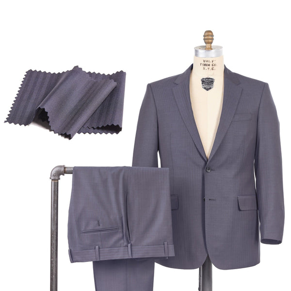 Super 140 Wool Herringbone Suit