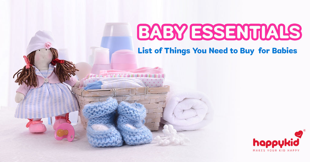 BABY ESSENTIALS - List of Things You Need to Buy