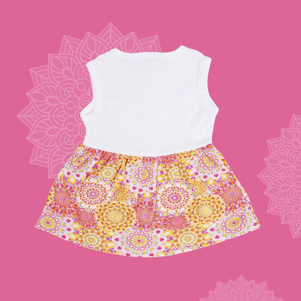 Sleeveless Frock Top For Baby Girls