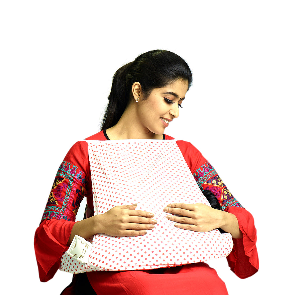 Cotton Feeding Bed with Pillow