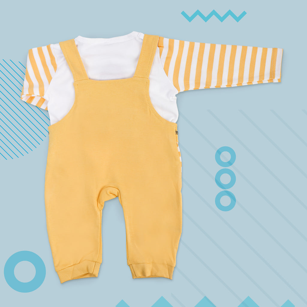 Full Sleeves Dungaree Set For Babies