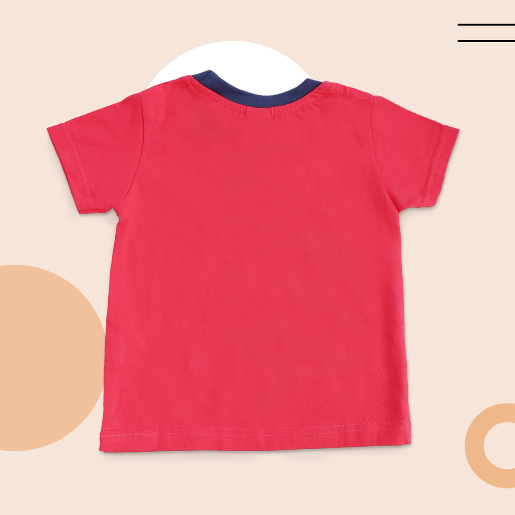 Half Sleeves Round Neck T Shirt For Boys
