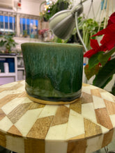 Load image into Gallery viewer, Handmade green planter - locally made 7cm