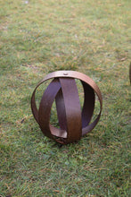 Load image into Gallery viewer, Corten Sphere - Baby