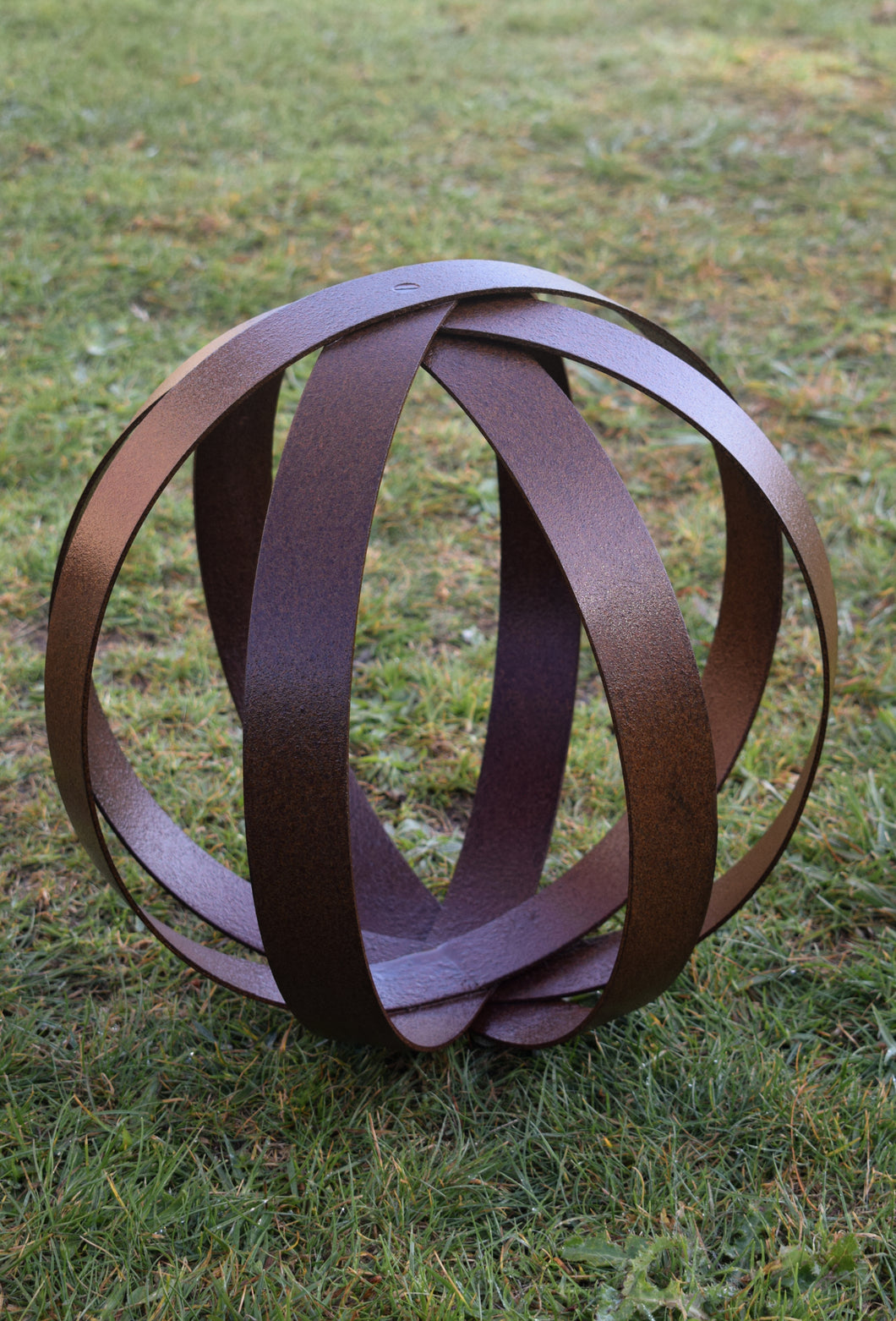 Corten Sphere - Child