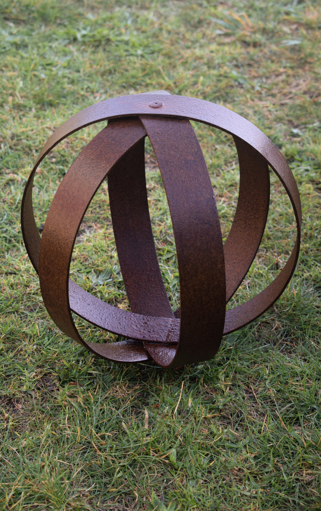 Corten Sphere - Toddler